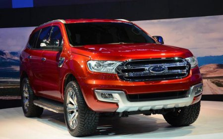 Ford Everest 2015 в России