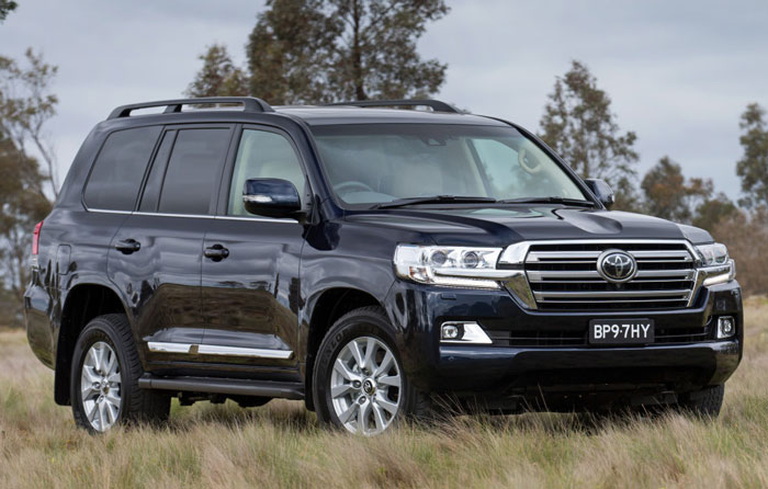 Toyota Land Cruiser 200 2016 года