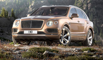 Bentley Bentayga 2016-2017 года