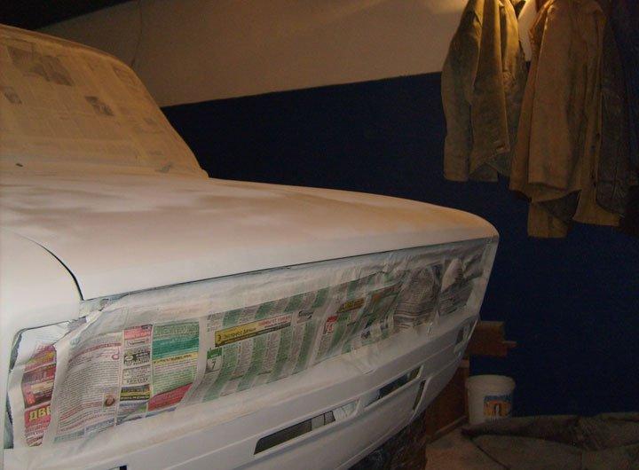 Покраска машины из баллончика своими руками фото 95