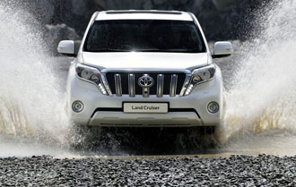 Новый Toyota Land Cruiser Prado 2016 года
