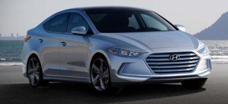 Компания Hyundai презентовала первые снимки новой версии автомобиля Elantra
