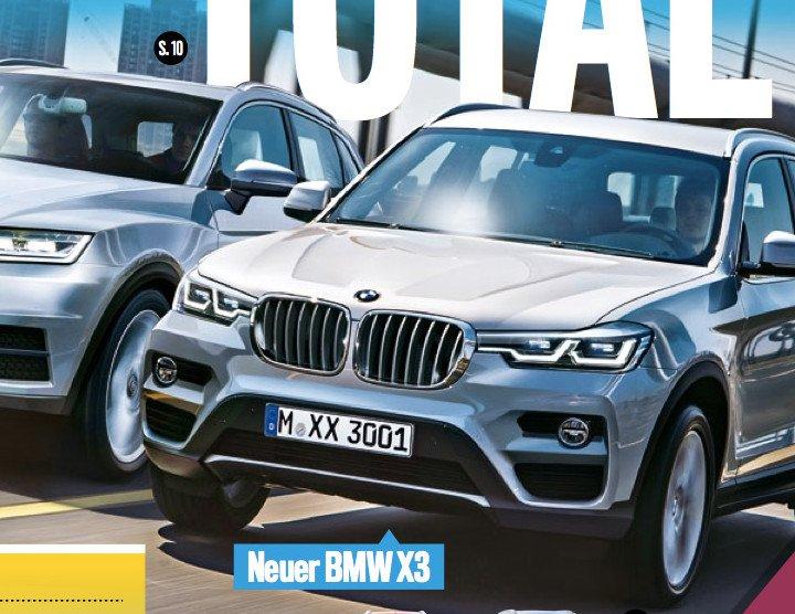Новый bmw x3 (2017): фото, видео, цена