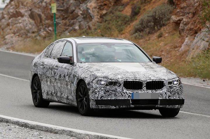 BMW 5 2017 — фото, цена
