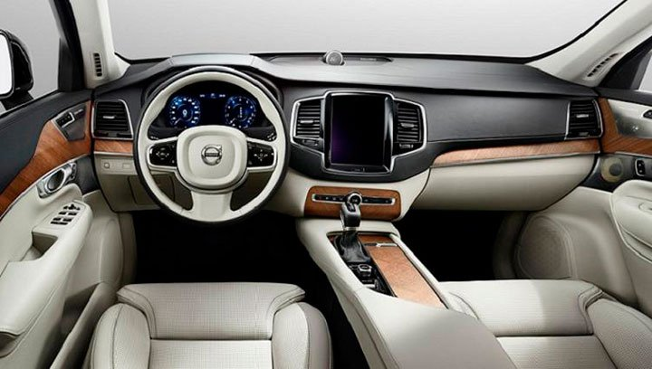 Салон Volvo XC70 2017 года