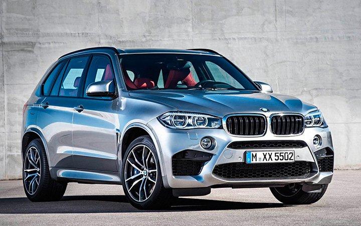 Новый BMW X5 2017 года
