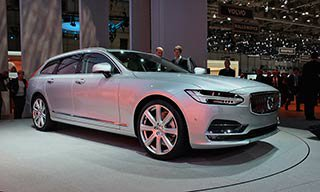 Новый Volvo V90 Cross Country 2017 года
