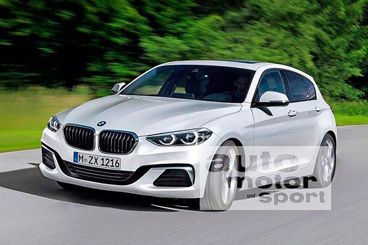 BMW 1-series 2018 года