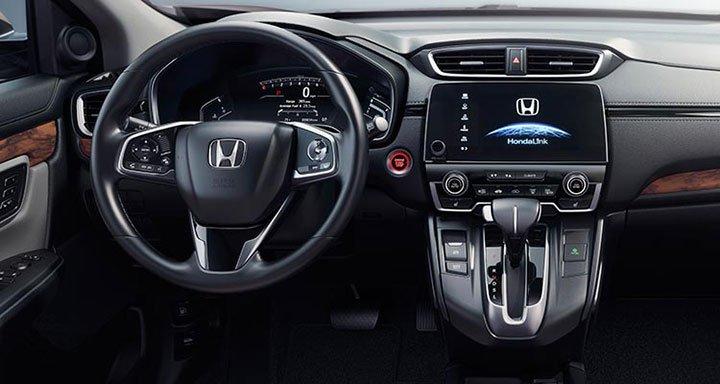 Интерьер Honda CR-V 2018 года