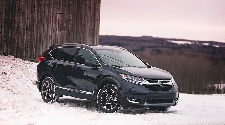 Honda CR-V 2018 года