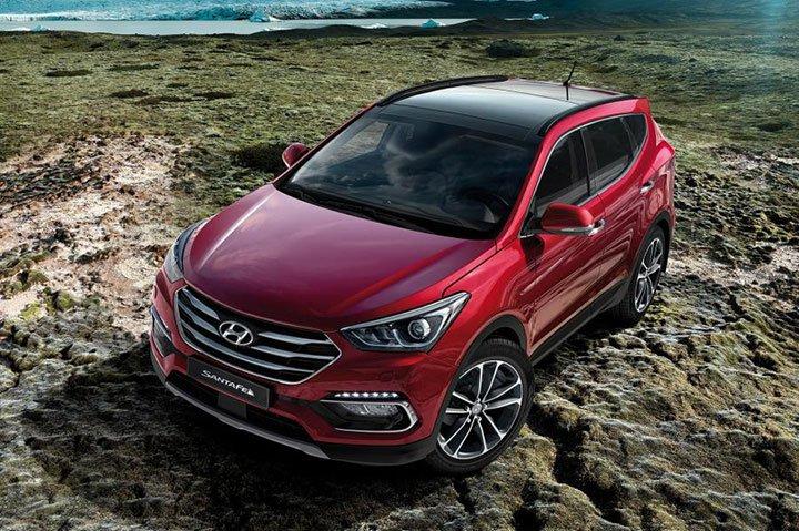 Hyundai Santa Fe 2018 года