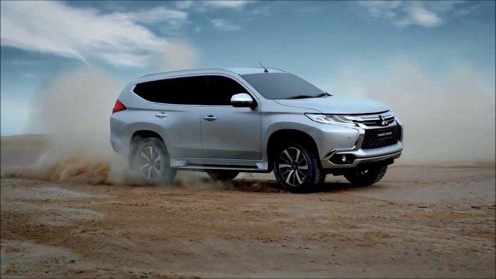 Mitsubishi Pajero 2018 года в пути