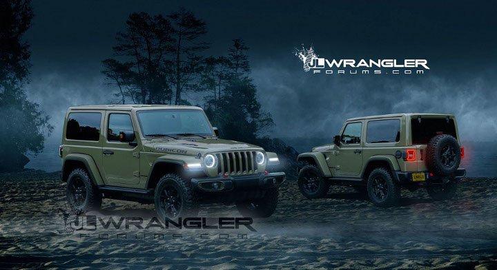 Jeep Wrangler 2018, цена, фото, характеристики