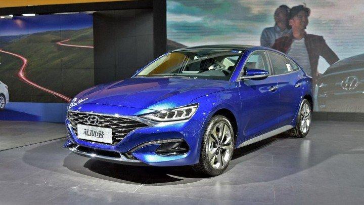 Hyundai Lafesta 2019 - вид спереди
