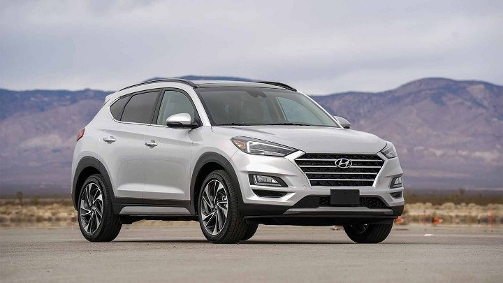 Hyundai Tucson 2019 - вид спереди