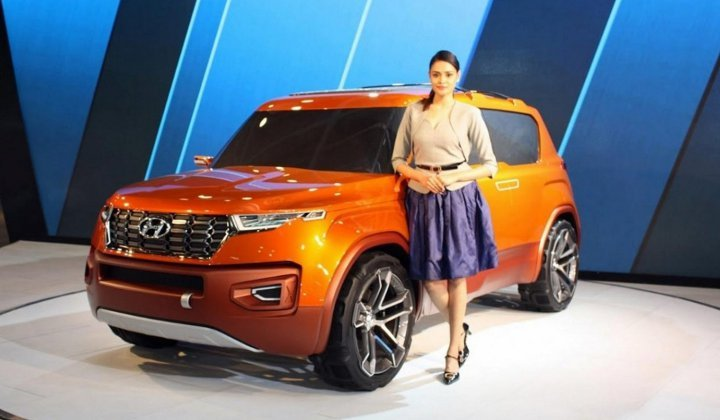 Hyundai Carlino 2019 - вид спереди