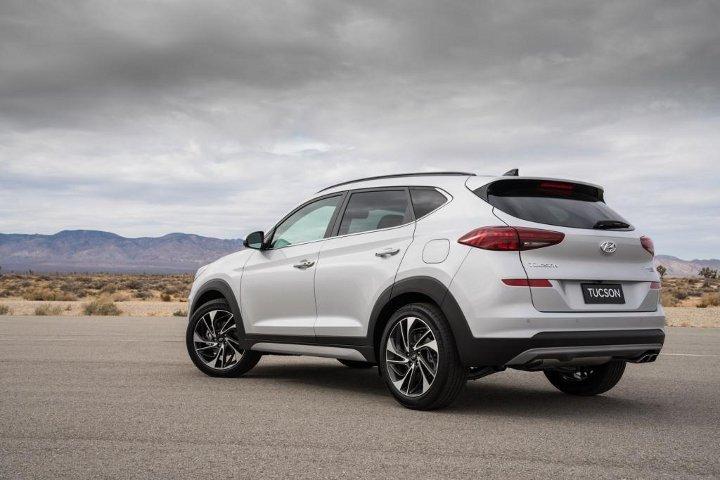 Hyundai Tucson 2019 - вид сзади