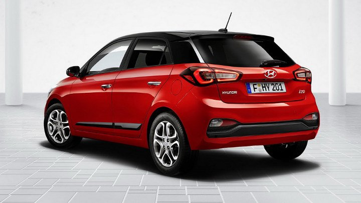 Hyundai i20 2019 - вид сзади