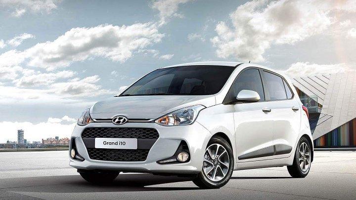 Hyundai i10 2019 - вид спереди