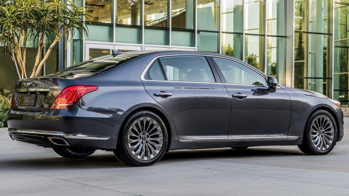 Hyundai Genesis G90 2019 - вид сзади