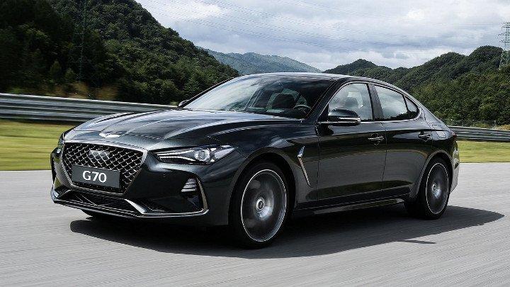 Hyundai Genesis G70 2019 - вид спереди