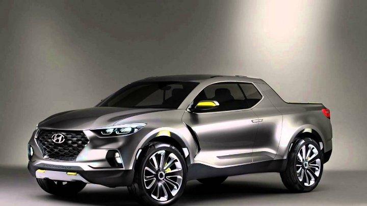 Hyundai Santa Cruz 2019 - вид спереди