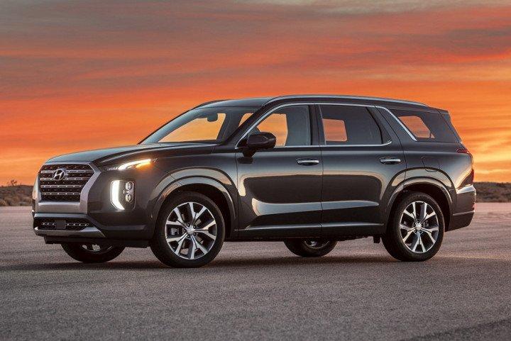Hyundai Palisade 2019 - вид спереди