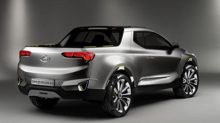 Hyundai Santa Cruz 2019 - вид сзади